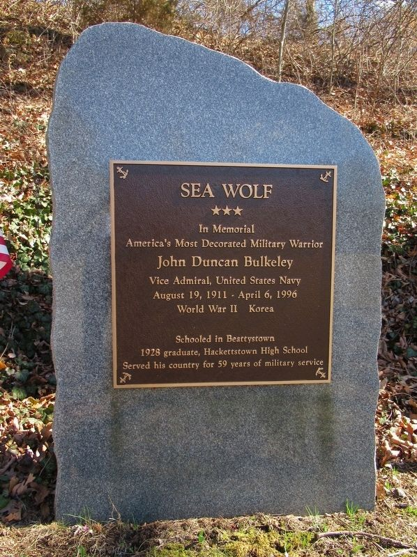Sea Wolf Marker image. Click for full size.