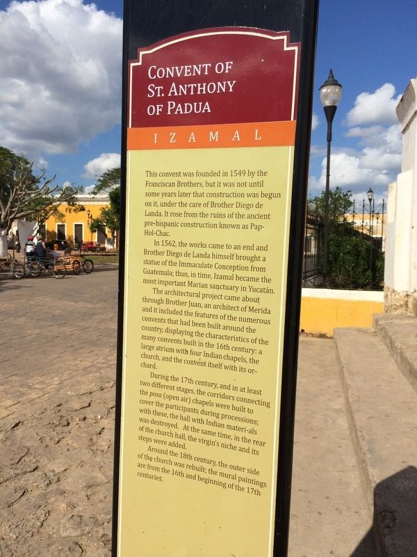 The Convent of St. Anthony of Padua Marker image. Click for full size.
