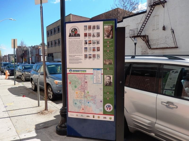 Diversity in a Segregated Community Marker-Reverse Side Panel image. Click for full size.