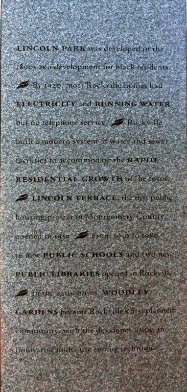 Rockville Town Square Marker image. Click for full size.