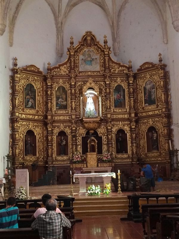 The altarpiece of the Church of the Convent of St. Anthony of Padua image. Click for full size.