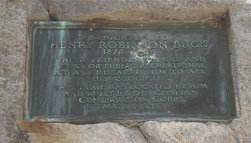 Henry Robinson Buck Marker image. Click for full size.