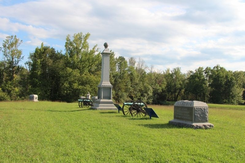 51st Illinois Infantry Marker image. Click for full size.