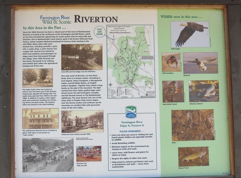 Riverton Marker image. Click for full size.