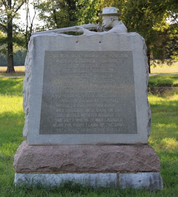 13th Michigan Infantry Marker image. Click for full size.