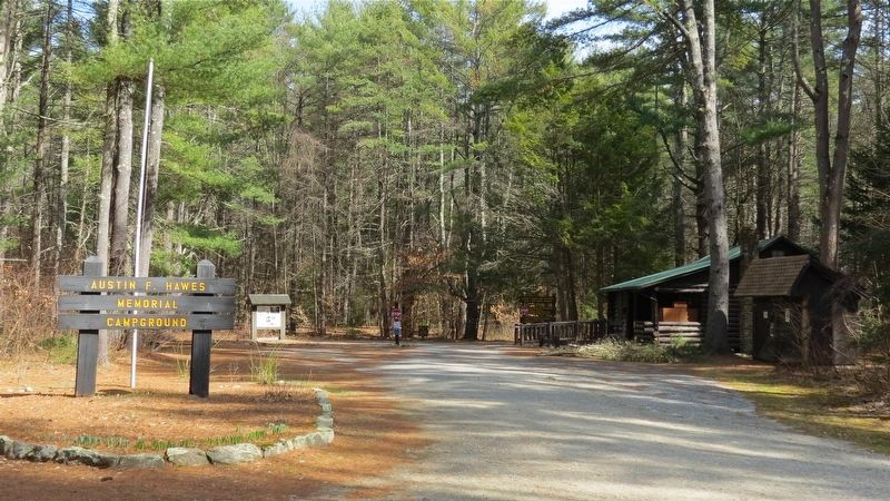 Austin Hawes Memorial Campground image. Click for full size.