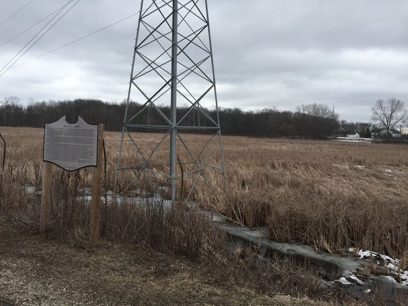 The marsh surrounding the marker. image. Click for full size.