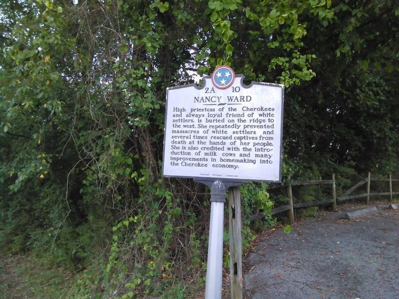 Nancy Ward Marker image. Click for full size.