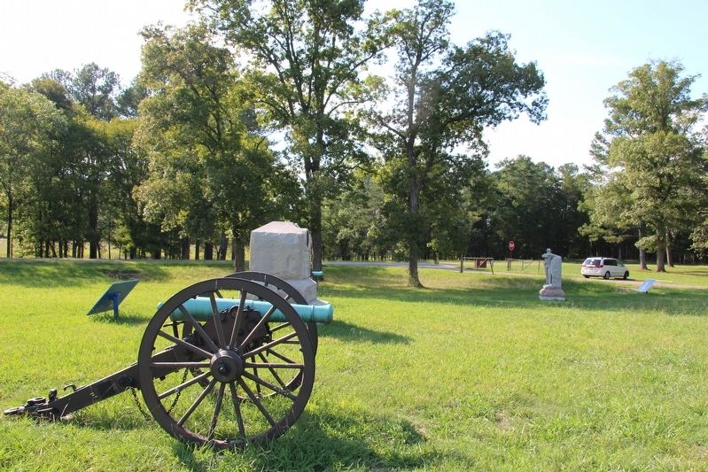 8th Indiana Battery Marker image. Click for full size.