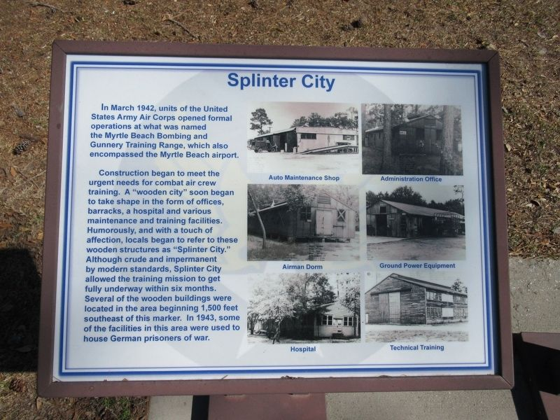 Splinter City Marker image. Click for full size.