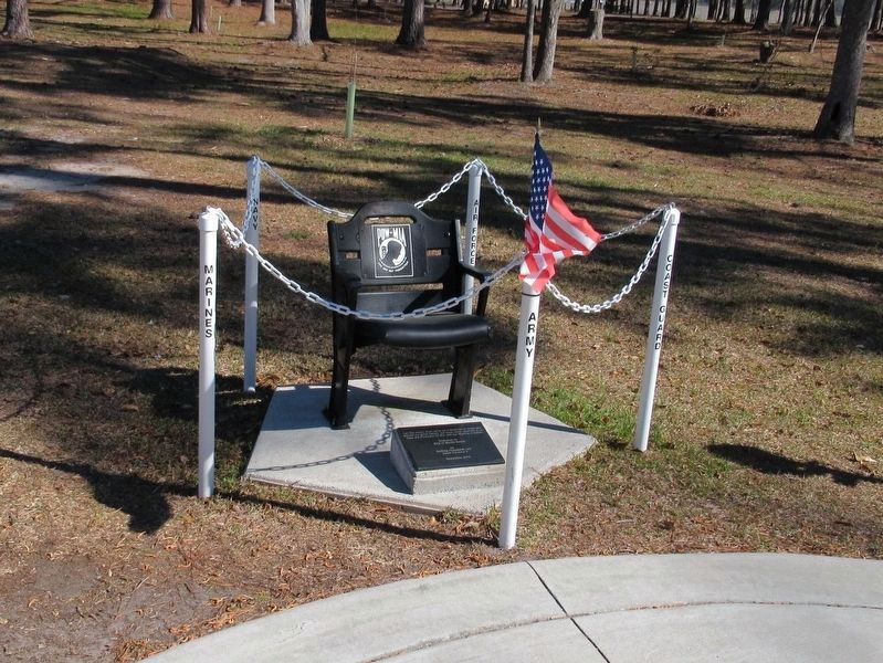Empty Chair POW MIA Memorial image. Click for full size.