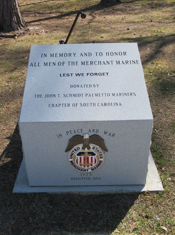 Merchant Marine Monument image. Click for full size.