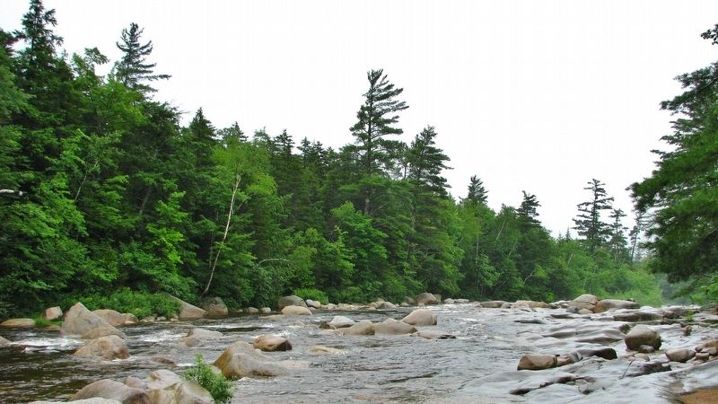 Swift River (<b><i>view near marker</b></i>) image. Click for full size.