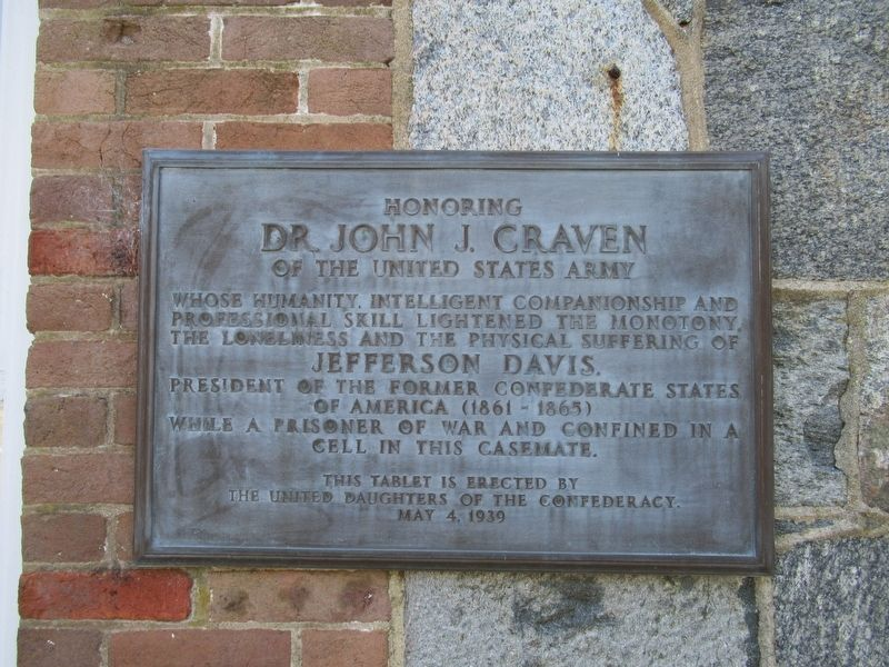 Honoring Dr. John J. Craven Marker image. Click for full size.