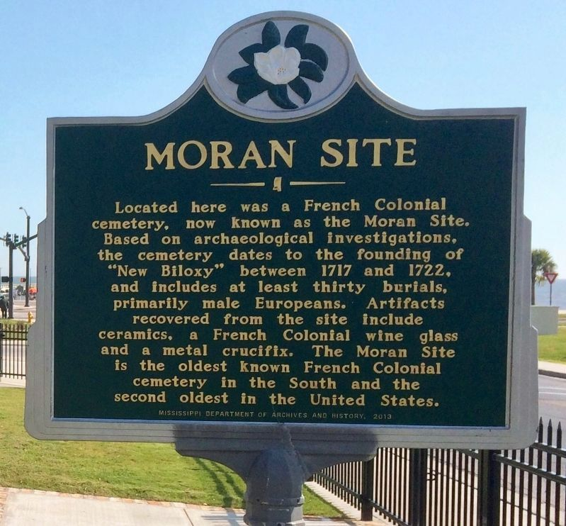 Moran Site Marker image. Click for full size.