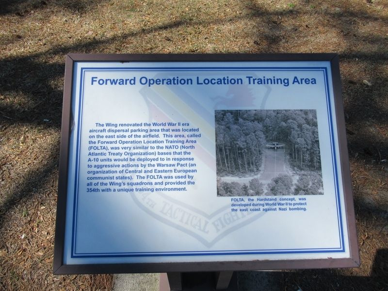 Forward Operation Location Training Area Marker image. Click for full size.