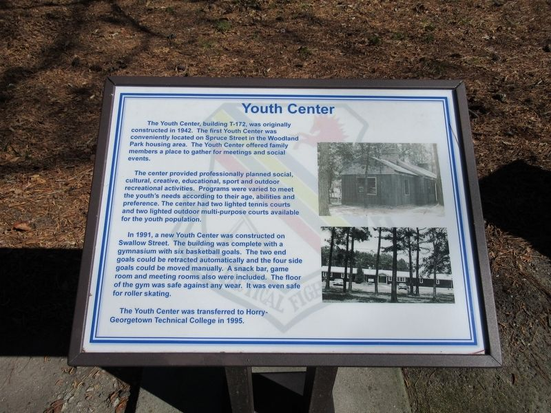 Youth Center Marker image. Click for full size.