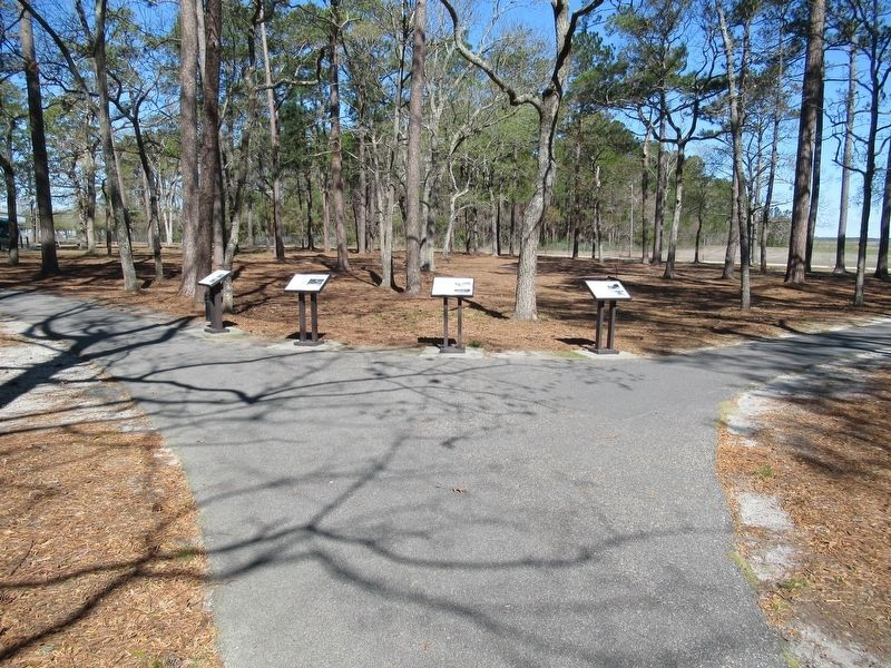 Markers in Warbird Park image. Click for full size.