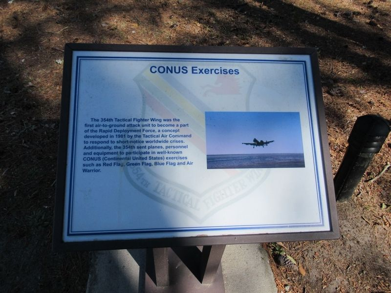 CONUS Exercises Marker image. Click for full size.