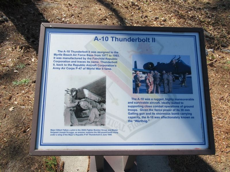A-10 Thunderbolt II Marker image. Click for full size.