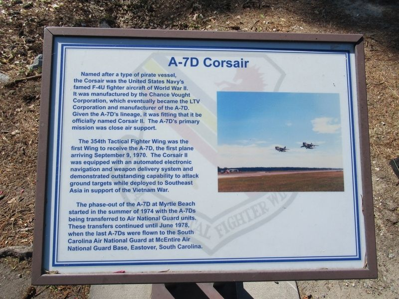 A-7D Corsair Marker image. Click for full size.