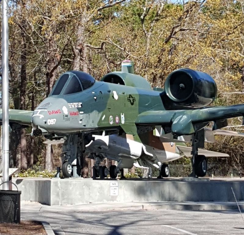 A-10 Thunderbolt II on display in Warbird Park image. Click for full size.
