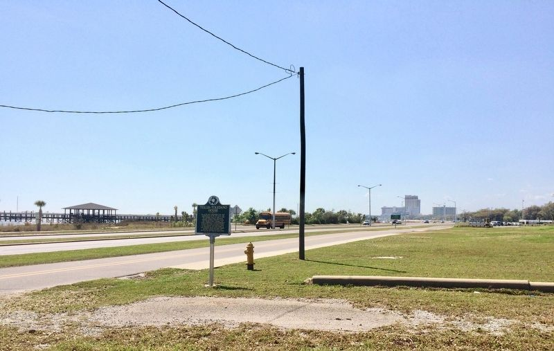 View west on Beach Boulevard. image. Click for full size.