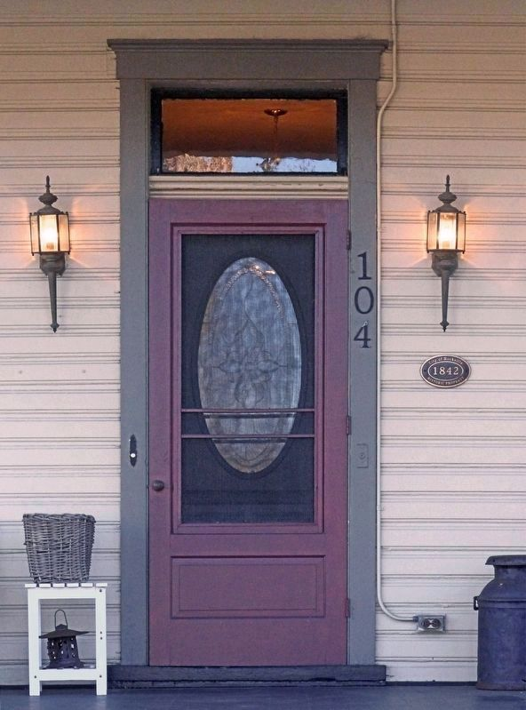 The Prettyman House<br>Front Door image. Click for full size.