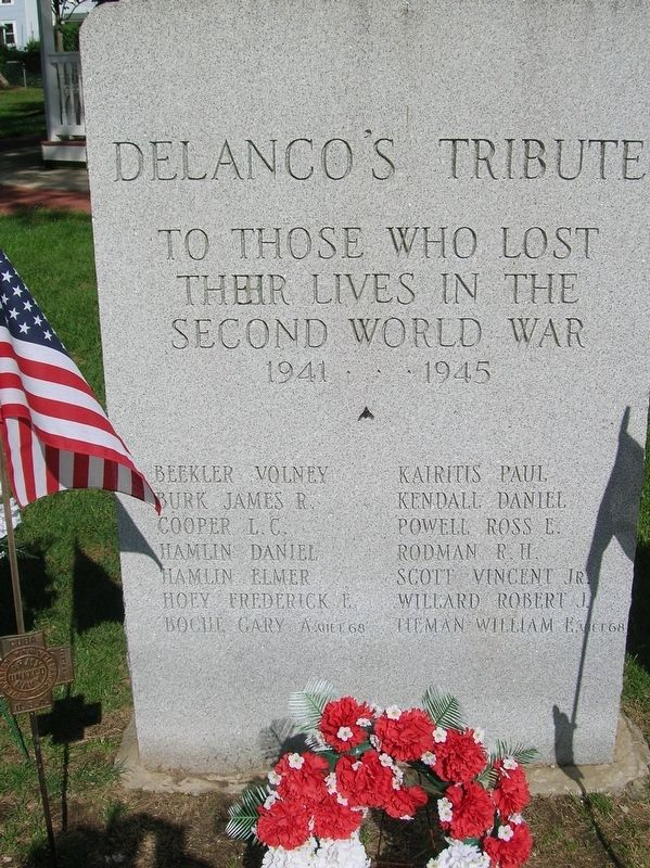 Delanco's Tribute image. Click for full size.