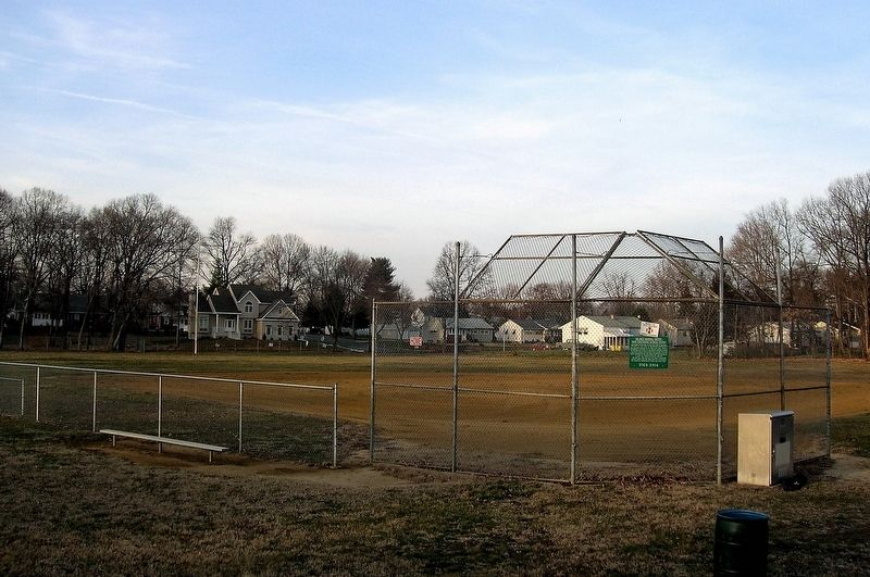Babe Ruth Field image. Click for full size.