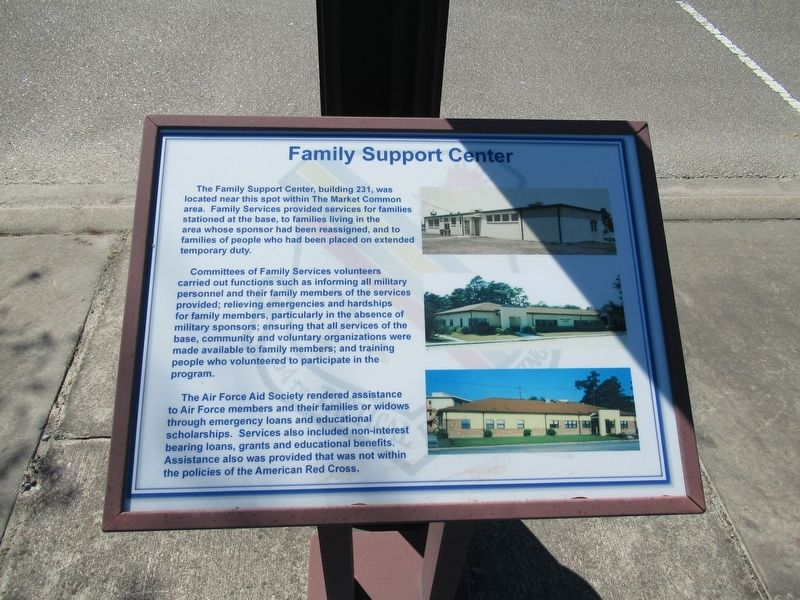 Family Support Center Marker image. Click for full size.