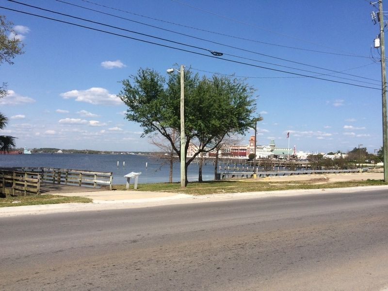 View towards the Back Bay of Biloxi and a casino that basically replaced the factories. image. Click for full size.