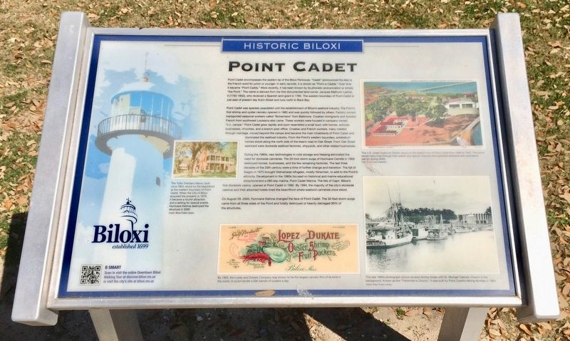 Point Cadet Marker image. Click for full size.