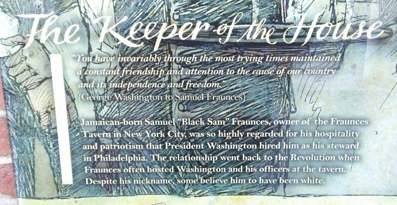 The Keeper of the House Marker Text image. Click for full size.