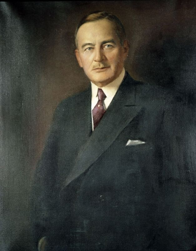Governor Angus W. McLean image. Click for full size.