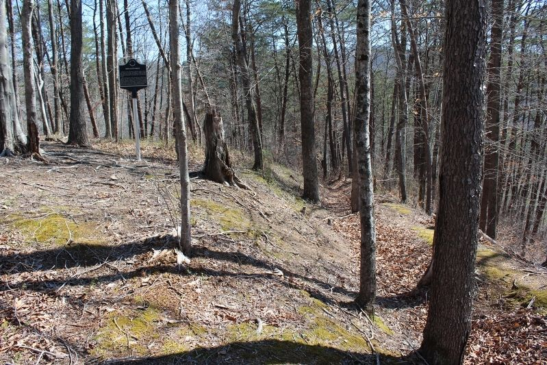 Breastworks Marker image. Click for full size.