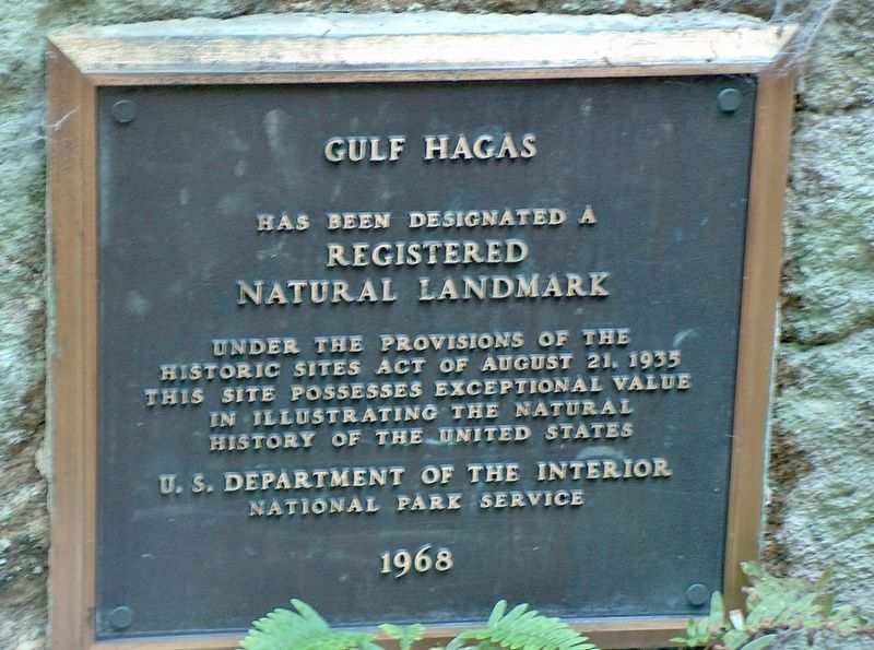 Gulf Hagas - Registered National Landmark image. Click for full size.
