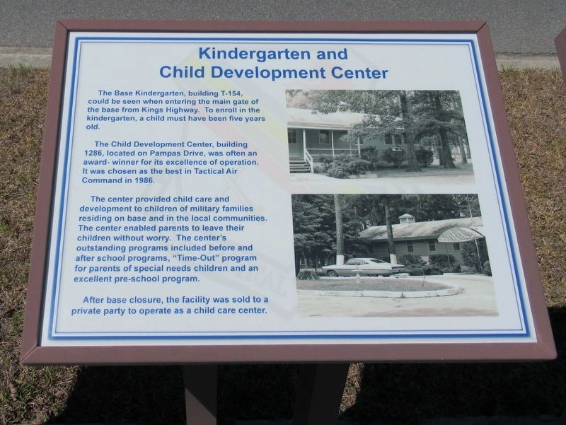 Kindergarten and Child Development Center Marker image. Click for full size.