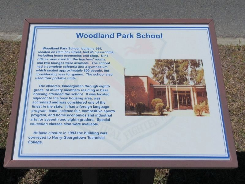 Woodland Park School Marker image. Click for full size.