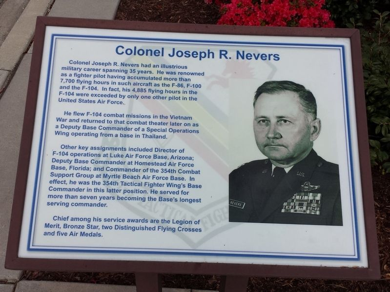 Colonel Joseph R. Nevers Marker image. Click for full size.