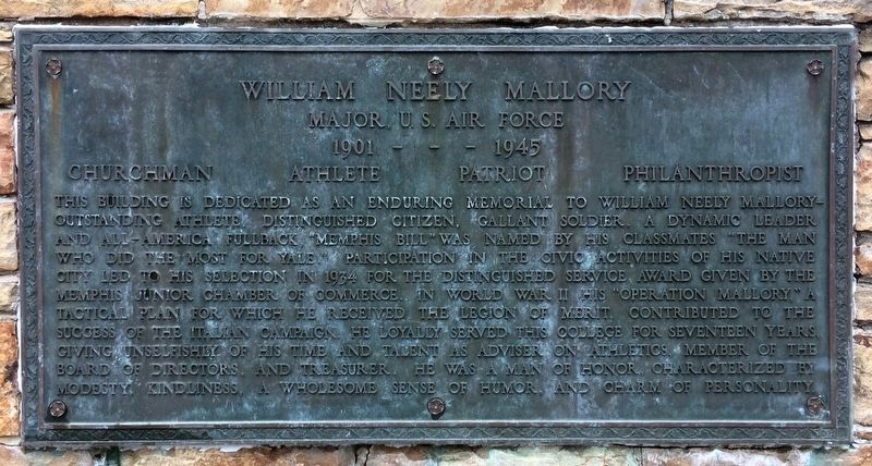 William Neely Mallory Marker image. Click for full size.