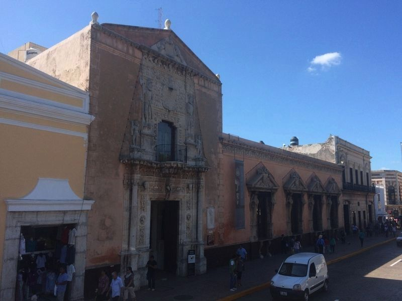 The House of Montejo, seen towards the west. image. Click for full size.
