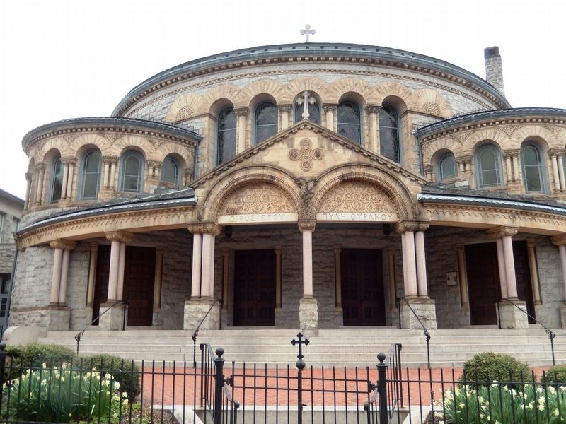 Greek Orthodox Cathedral image. Click for full size.
