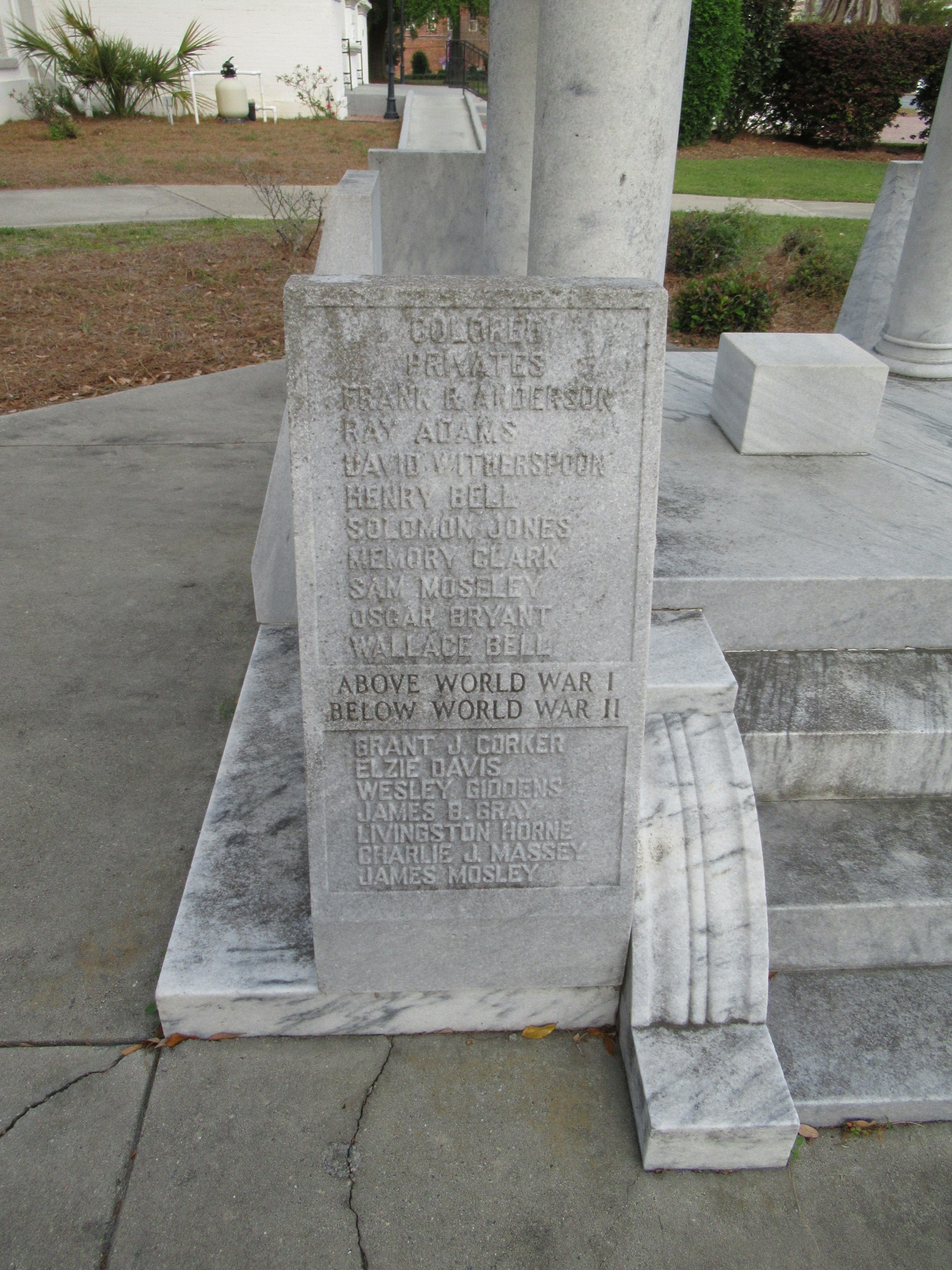 Quitman Veterans Memorial