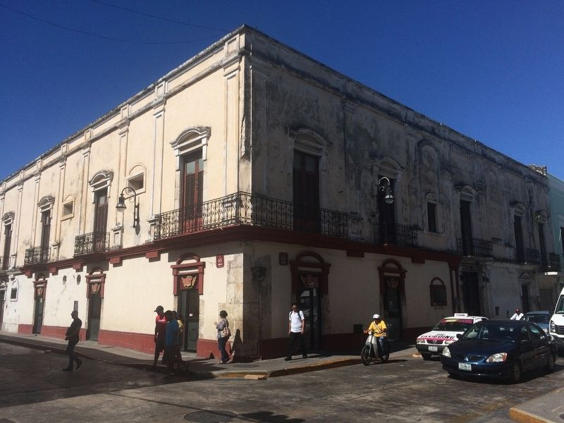 Former Mansion of Doña Josefa Escudero Aguirre image. Click for full size.