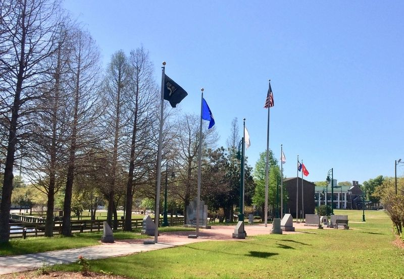 Monument is the furthest one on left at this memorial park. image. Click for full size.