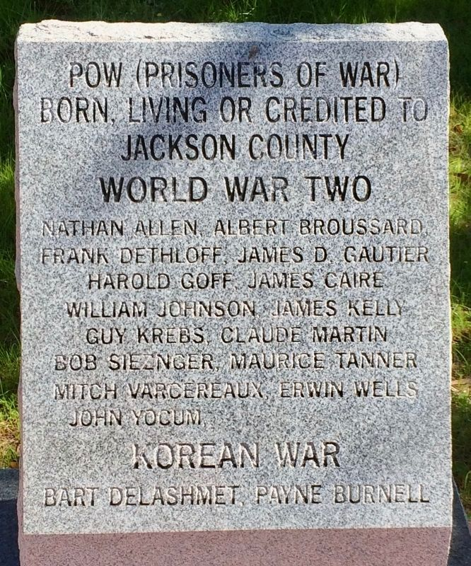 POW (Prisoners of War) Monument image. Click for full size.
