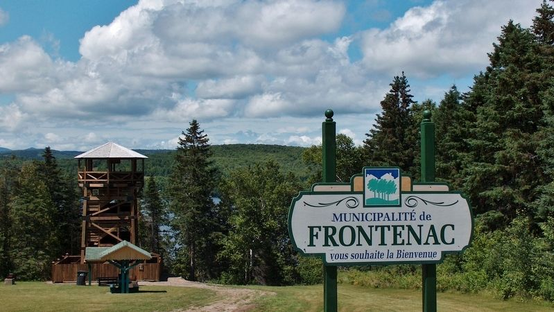 Municipality of Frontenac Observation Tower image. Click for full size.