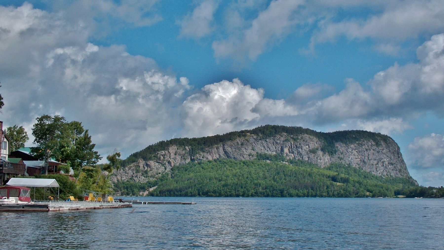 Mount Kineo view from Moosehead Lake image. Click for full size.