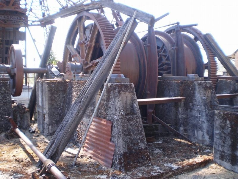 Kennedy Mine Cable reels image. Click for full size.